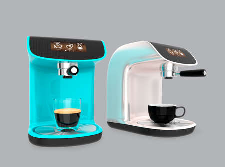 machines: Stylish espresso coffee machines with touch screen