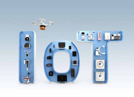 x ray machine: Medical imaging system, dental equipment in IoT word. IoT concept for medical equipment. 3D rendering image.