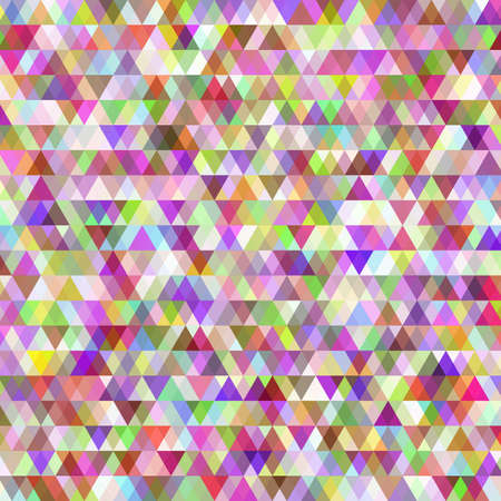 identical: Many rows of identical small colored triangles