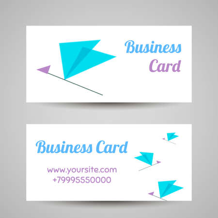 labeling: Business card template. Vector icon for beauty industry, beauty salon, cosmetic labeling, beauty boutique.