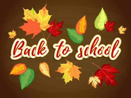 Back To School Autumn