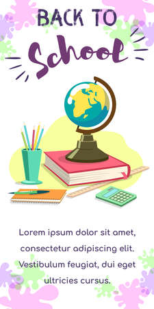 Back To School Globe
