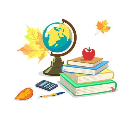 School Supplies Autumn Season Stok Fotoğraf - 131659842