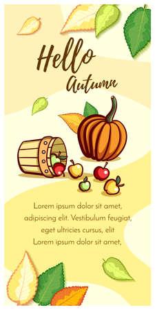 Hello Autumn Ripe Apples Çizim