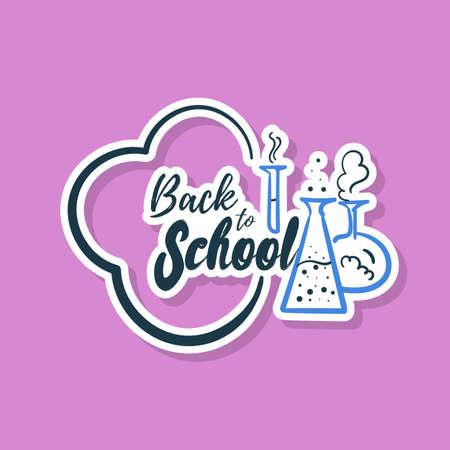 Chemistry Class Sticker Çizim