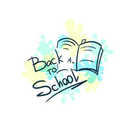 Back To School Badge Notebook Çizim