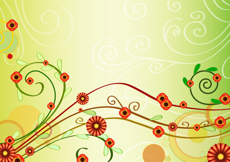 cute swirls Stock Vector - 5745141