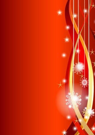 Snowflakes-Weihnachtskarte