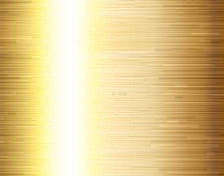brushed gold texture Stock Vector - 6218731