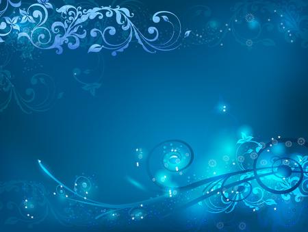 glowing swirls background