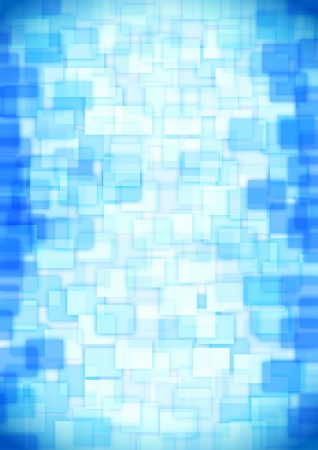 glass blue squares Vector