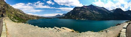 Glacier National Park Montana Rocky Mountains usa Фото со стока - 115782929