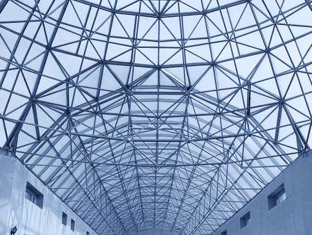 big roof construction photo