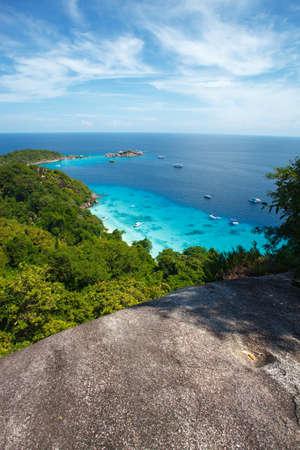 similan: beach of Similan Koh Miang island in national park, Thailand