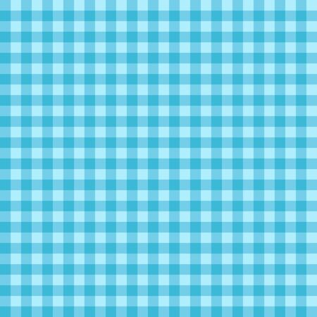 classic contrast: Checked seamless vector pattern. Blue background with dark blue overlapping stripes.