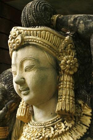 handscraft: Thai ancient sandstone carving