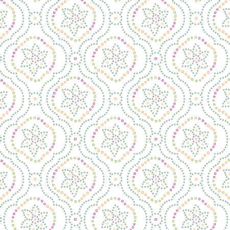 seamless traditional bandanna pattern