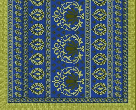 traditional textile saree design decorative pattern background