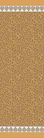 seamless traditional textile saree design decorative pattern background Banque d'images