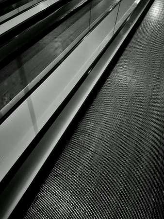 lines: Diagonal lines fron escalators
