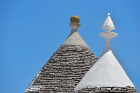 Trulli stone houses of Alberobello. Puglia, southern Italy