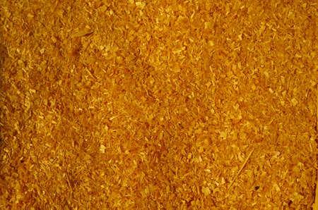 yelllow: pine sawdust