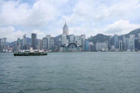 victoria harbor: Hong Kong Victoria Harbor Editorial