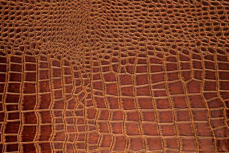 brown skin: golden brown crocodile skin texture