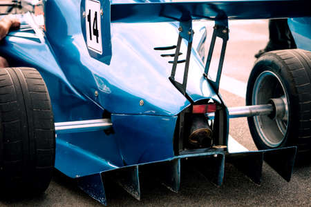 formula car: rare part of racing car