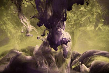 fantasy background: beautiful smooth fantasy liquid background