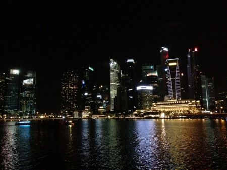 nightview: Singapore city nightview