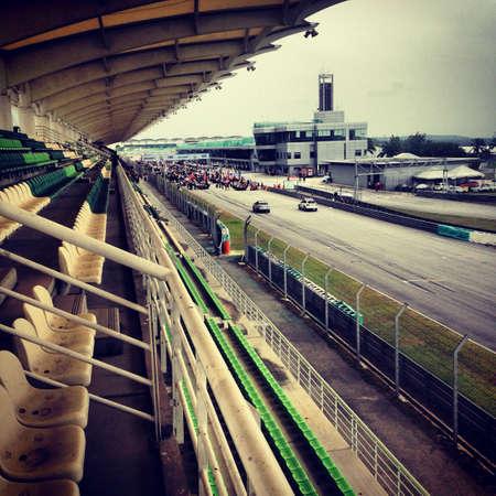 grid: gt japan starting grid Stock Photo