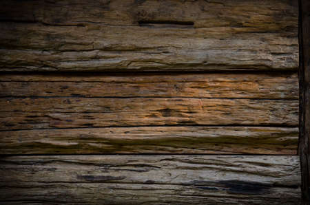 black wood texture: texture of old wood in frame . it use for wallpaper or background Stock Photo