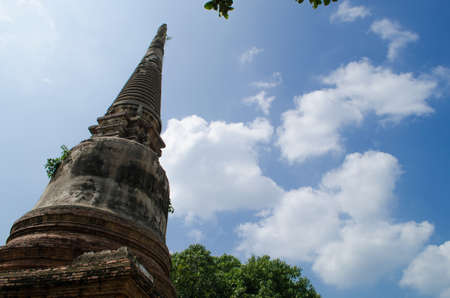 Wat Yai Chai Mongkol obviously is one of the major temples in the Ayutthaya area . and features a large Stupa, built after King Naresuans Victory Editorial