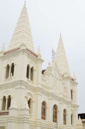 St. Francis Church, in Fort Kochi (Fort Cochin), Kochi, originally built in 1503, is the oldest European church in India