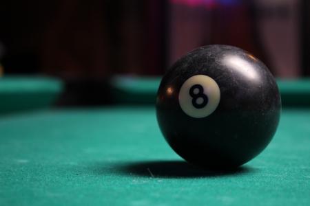Billiards 8 ball Reklamní fotografie