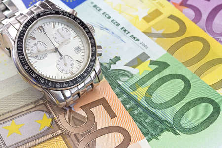 Time is business Stock Photo