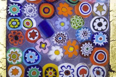 murano: Mosaic glass background