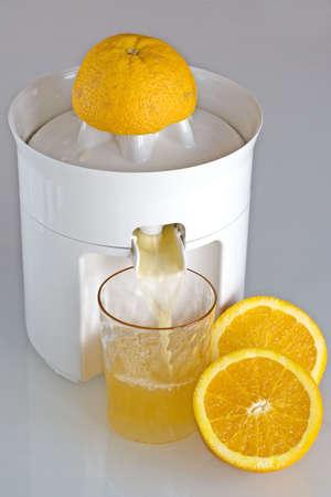 Orange squeezer Stock Photo