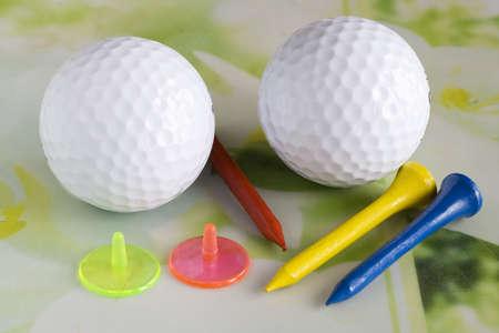 Golf accessories Banque d'images