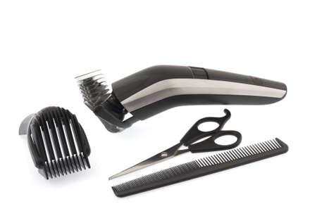 Barber work tools Stock Photo - 9851624