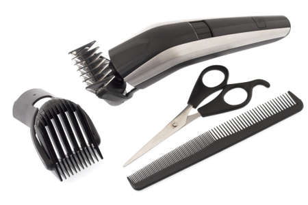 Barber work tools  photo