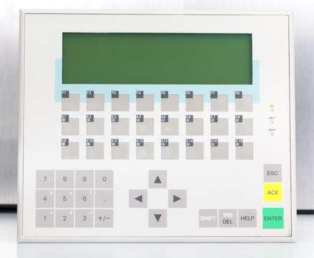 Industrial operator panel  Stock Photo