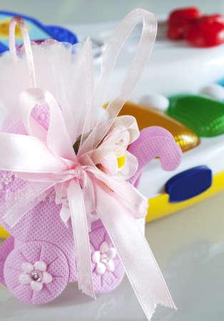 Baptism box of sweet