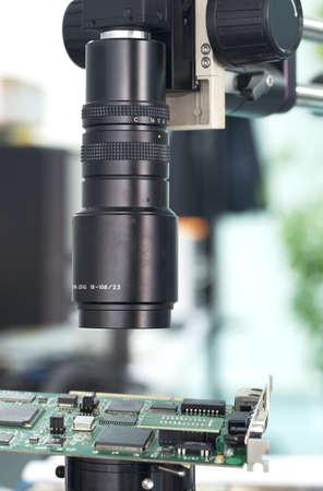 Camera inspection control