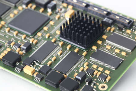 Electronic circuit board Banque d'images