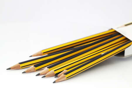Pencil in a box photo