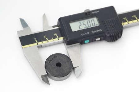 on the lathe: Digital Caliper