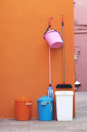 recolector de basura: Basurero Foto de archivo