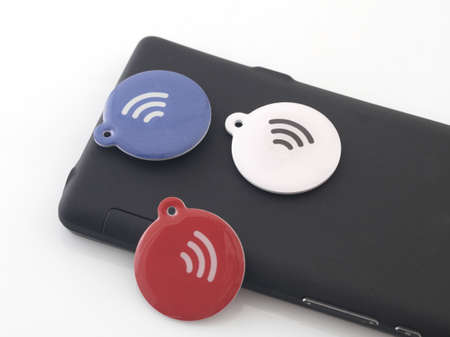 Nfc Tags Stock Photo - 18166537